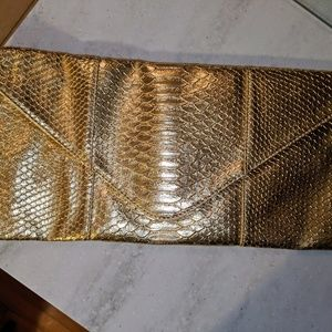 Urban Expressions Gold Envelope Clutch